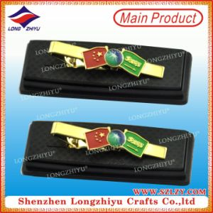 Nation Flag Peace Tie Clips Gift Box Commemorative Tie Clip pictures & photos