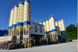 Hzs60 Ready Mixed Concrete Mixing Plant pictures & photos