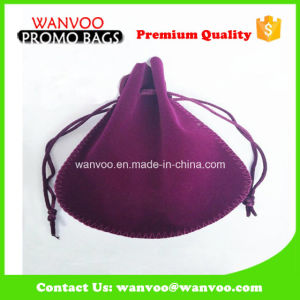 Multilayer Big Storage Velvet Cosmetic Bag Accept Customized pictures & photos