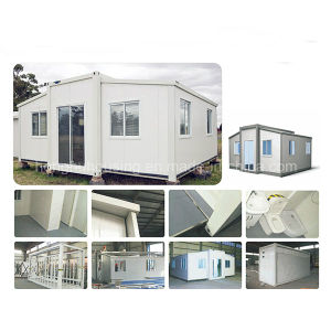 Prefabricated House Folding Three in One Container House with Roof pictures & photos