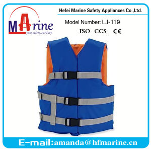 Marine Swimming Suit Life Jacket Vest Wholesale with Solas Standard pictures & photos