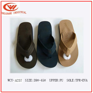 2016 Fashion Design Good Sale Male Slippers pictures & photos