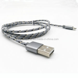 Nylon Braided USB Charge Cable for Micro B