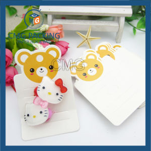 Pink Card with Slot for Hair Bend (CMG-064) pictures & photos