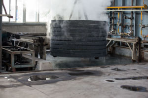 OEM Forging Steel Seamless Roller Ring, as Rolled & Machined Rings, Blank for Slewing Bearings pictures & photos