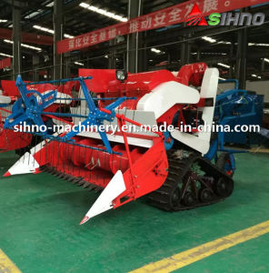 Self-Propelled Full Feeding Type 4lz-0.7 Mini Combine Harvester pictures & photos
