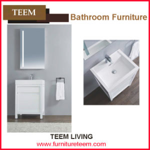 Chinese Lastest Design Wooden Bathroom Cabinets with Granite Countertops pictures & photos