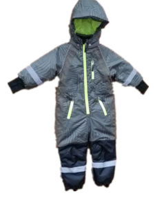 Wave Reflective Hooded Waterproof Jumpsuits/Voerall/Coverall/Raincoat pictures & photos
