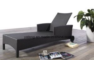 Top Quality Cheap Price Outdoor Pool Side Lounge with Wheel pictures & photos