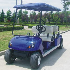 Custom Request Marshell Electric Golf Cart with Optional Parts pictures & photos