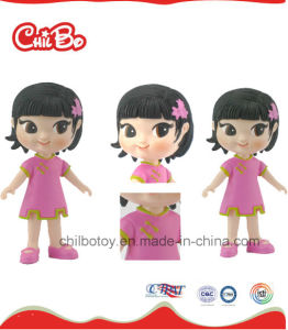 Cartoon Plastic Girl Toy for Kids (CB-PM011-Y) pictures & photos