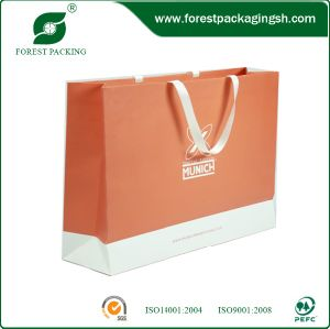 Custom Print Luxury Paper Shopping Bags pictures & photos