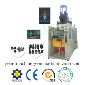 ISO9001 Vertical Type Full Automatic Injection Molding Rubber Machine pictures & photos