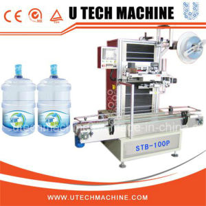 Automatic 5 Gallon Sleeve Labeling Machine/Shrinking Machine pictures & photos
