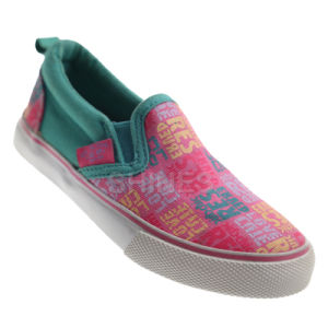 Girl′s Slip on Basic Vulcanized Shoes pictures & photos