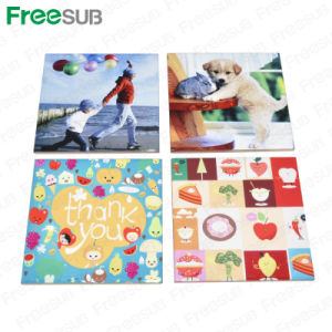 Freesub 202*202mm Custom Sublimtion Printing Tiles for Sublimation Scy37 pictures & photos