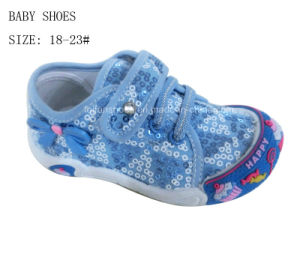 Sweet Heart Cute Fashion Injection Baby Shoes Infant Shoes (HH1006-3) pictures & photos