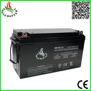 12V 150ah AGM Rechargeable Lead Acid Battery pictures & photos