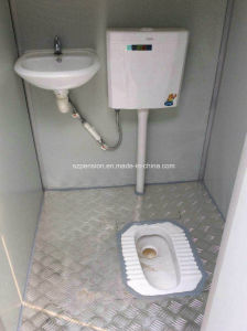 Low Cost Convenient for Mobile Prefabricated/Prefab Public Toilet/House pictures & photos