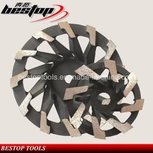 L Segmented Diamond Grinding Wheel for Concrete Polishing pictures & photos