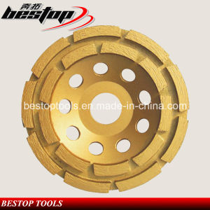 Cold Pressed M14 Double Row Cup Grinding Wheel for Australian Market pictures & photos
