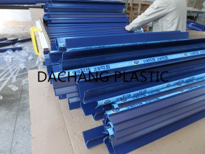 Blue PVC Plastic Shelf Talker Data Strip pictures & photos