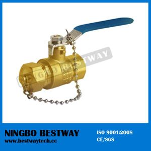 Lead Free Brass Solder Chain Ball Valve pictures & photos