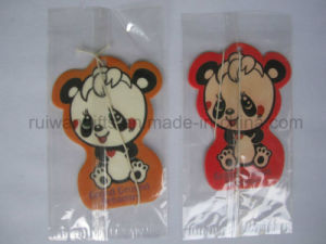 Promotion Car Freshener, Cheap Giveaway Gifts Air Freshener Paper with Logo pictures & photos