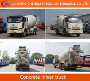 FAW Concrete Mixer Truck FAW Cement Mixer Truck pictures & photos