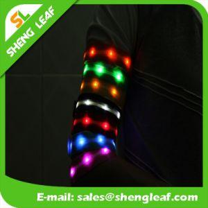 Flash LED Wrist Straps Running Flashing LED Band pictures & photos