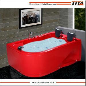 2016 Acrylic Double Whirlpool Bathtubs Tmb052 pictures & photos
