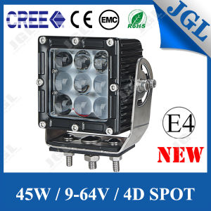 4D Auto LED Work Light 45W LED Car Light LED Work Lamp pictures & photos