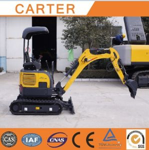 CT16-9bp with Canopy&Retractable Chassis& Rubber Tracks Mini Excavator pictures & photos
