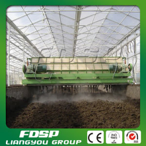 Energy Saving Horizontal Fermentation Compost Machine pictures & photos