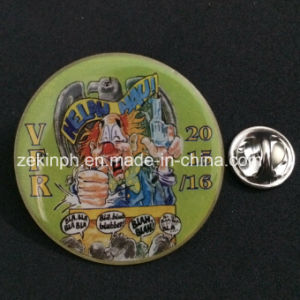 Customized Offset Printing Pin Badge for Promotional Gifts pictures & photos