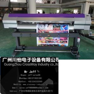 Eco Solvent Printer, Plotter Eco Solvent Cy1600 with Dx7 Head