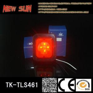 LED Truck Side Lamp (4 LED) Chromium Plating Soft Bottom Type