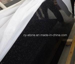 Black Galaxy Granite Tile for Countertop/Vanitytop/Benchtop/Flooring Tiles pictures & photos