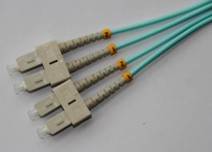 SC/UPC-SC/UPC Duplex OM3 50/125 Fiber Patch Cord