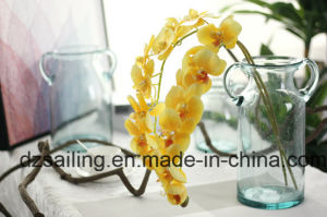 High Quality Orchid Artificial Flower with Hand Feeling Coating (SW18901) pictures & photos