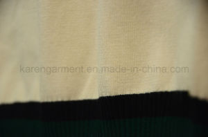 Ribbed V Neck Cricket Sweater Vest pictures & photos