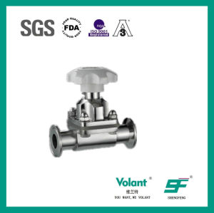Stainless Steel Material Sanitary Diaphragm Valve pictures & photos