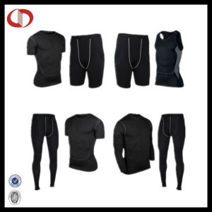 New Pattern Dry Fit Mans Gym and Fitness Suits pictures & photos
