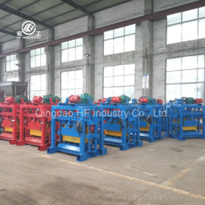 Small Manual Type Concrete Cement Block Making Machine pictures & photos