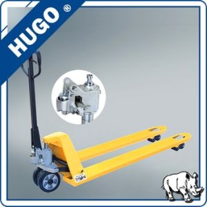Low Profile 2ton Hydraulic Forklift Manual Hand Pallet Truck pictures & photos