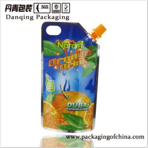 China Doypack Supplier Orange Drink Packaging D0038 pictures & photos
