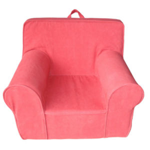 Lovely Red Fabric Full Sponge Children Sofa Furniture (SXBB-341) pictures & photos