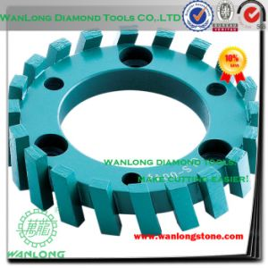 Diamond CNC Stone Stubbing Grinding Wheel for Granite and Marble Surface Material Removal pictures & photos
