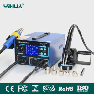 Yihua 992da 3in1 Function Soldering Station with Smoke Absorber pictures & photos