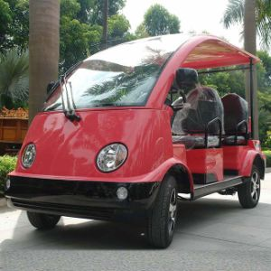 CE Approval Colorful 4 Seat Electric Sightseeing Car (DN-4/5) pictures & photos